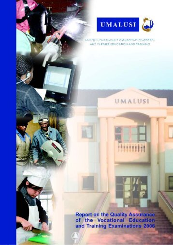 Report on the Quality Assurance - Umalusi
