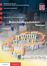 Biotechnologiestandort Hessen - invest-in-hessen