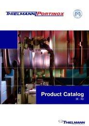 Product Catalog - portinox