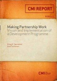 Making Partnership Work - CMI