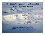 Download PDF (3.23 MB) - State of the Arctic 2010