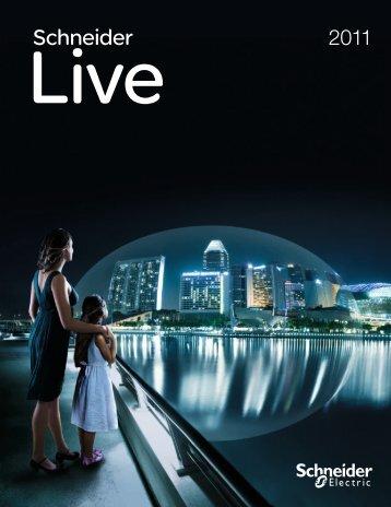 Schneider LIVE 2011 als PDF (8.53 MB) - Schneider Electric