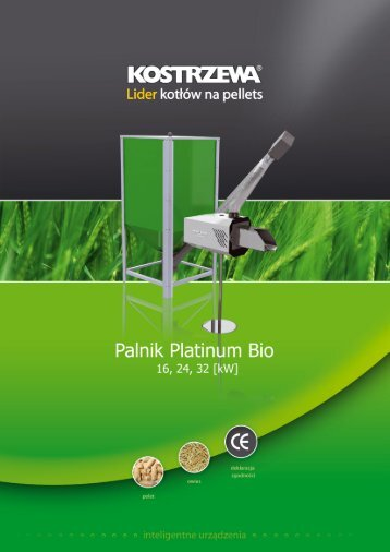 Instrukcja instalacji i obsÃ…Â'ugi palnika Platinum Bio - Polmark