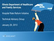 Acute services - State of Illinois