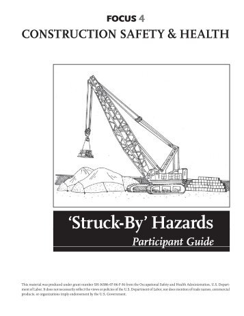 Struck-by Hazards: A Participant's Guide - OSHA