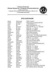Lista uczestników - SPZP CORRPOL