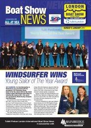 WINDSURFER WINS - London Boat Show