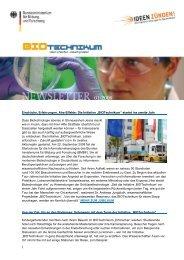 Ausgabe 01/2009 - BIOTechnikum