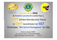 GMT(Global Membership Team) - Lions Distrikt 129