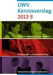 UWV Kennisverslag 2012-3