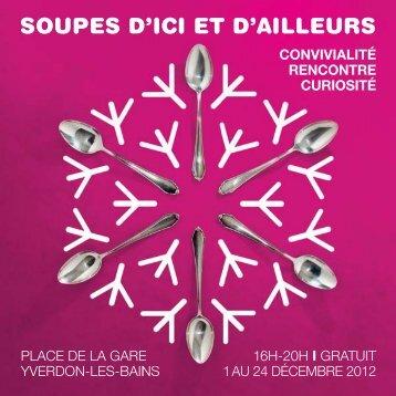 Livre de recette 2012 - Yverdon-les-Bains
