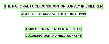 CONTENTS - South African Health Information