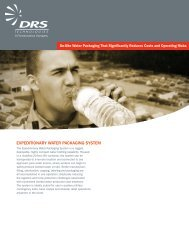 EXPEDITIONARY WATER PACKAGING SYSTEM