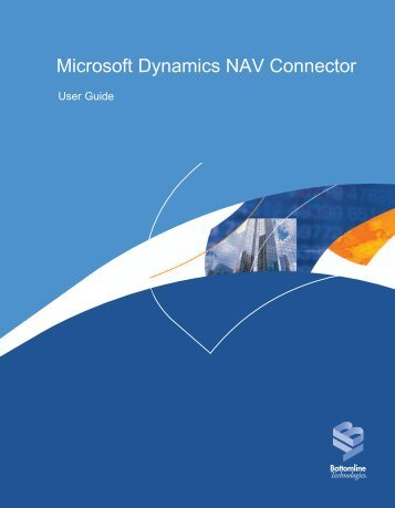 Microsoft Dynamics NAV Connector - Bottomline Technologies