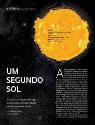 Um segUndo sol - Revista Pesquisa FAPESP