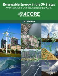 Full 2012 PDF report - American Council On Renewable Energy