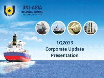 Presentation - Uni-Asia Finance Corporation