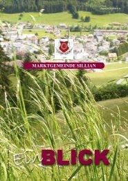 Ausgabe 20 - Juli 2009 - Marktgemeinde Sillian