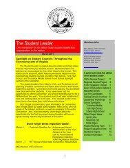 March 2011 - Virginia Association of Secondary School Principals