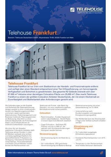40268 TEL] Frankfurt data sheet_AW12 GER.indd - Telehouse
