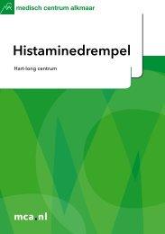 Histaminedrempel - Mca