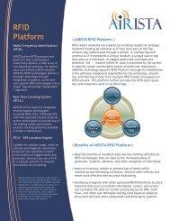 MONITRAC Senior Living Solution - AiRISTA