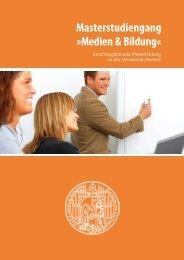Medien & Bildung - Wissenschaftliche Weiterbildung - Universität ...