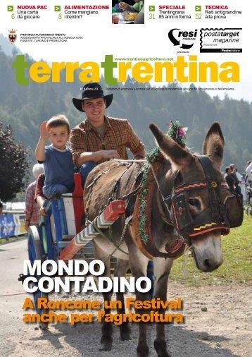 MONDO CONTADINO - Ufficio Stampa - Provincia autonoma di Trento
