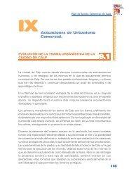 Capítulo IX - Actuaciones Urbano - comerciales - Pateco