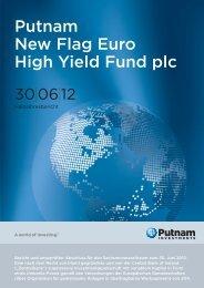 Putnam New Flag Euro High Yield Fund plc - Putnam Investments