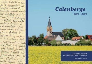 Festschrift [pdf] - Calenberge