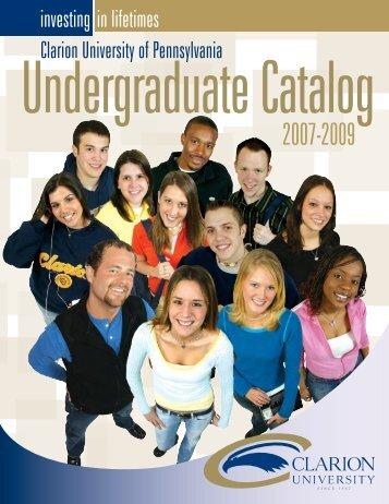 Undergraduate - Clarion University