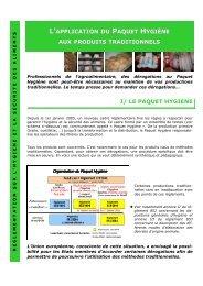 Fiche paquet hygiène V finale-30-10-07 - Chambres d'Agriculture de ...