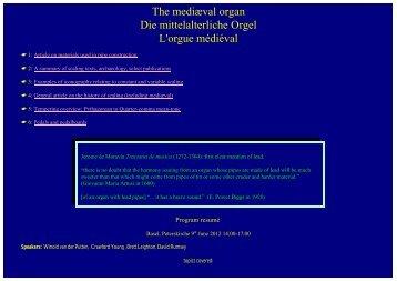 Program overview (pdf)
