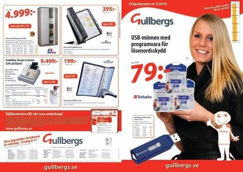 Pris från - Gullbergs