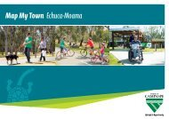 Map My Town Echuca-Moama - Shire of Campaspe
