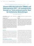 Diamant Mikrodermabrasion (DMDA) und Elektroporation (EP) - Seite 2