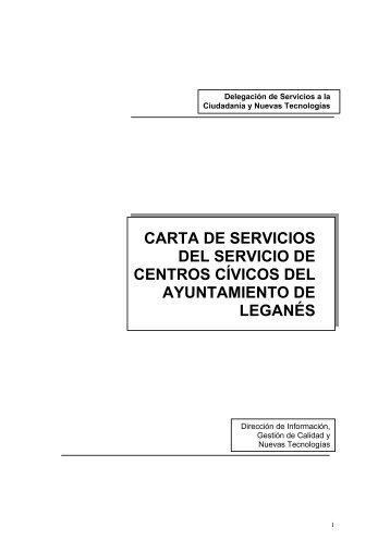carta de servicios del servicio de centros cívicos del ayuntamiento ...