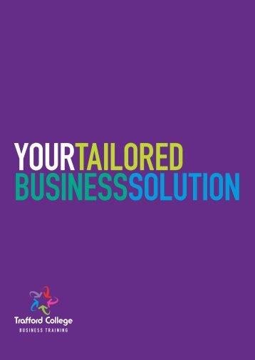 Business Training - Trafford College