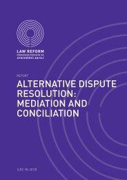 Alternative Dispute Resolution - Northern Ireland Court Service Online