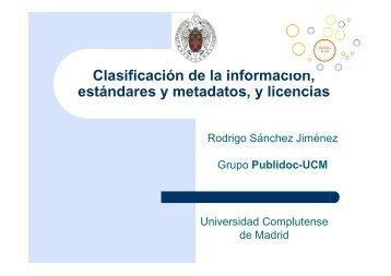 Registros de activos de información - RedIRIS