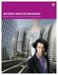 Motorola Wireless Broadband Overview Brochure
