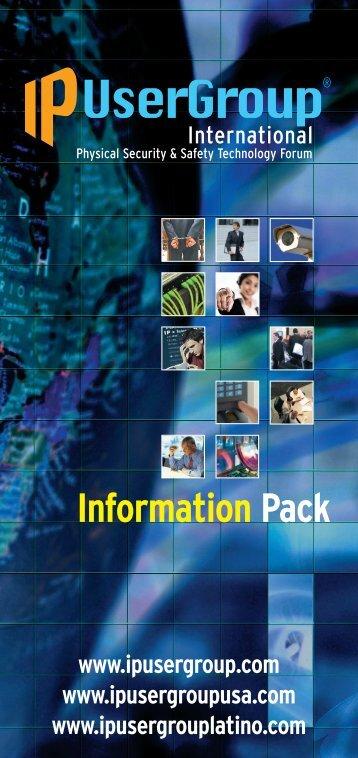 IPUG leaflet - IP UserGroup