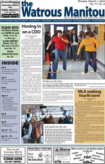 March 1, 2010.pdf - Watrous Heritage Centre