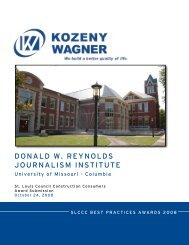 donald w. reynolds journalism institute - the St. Louis Council of ...