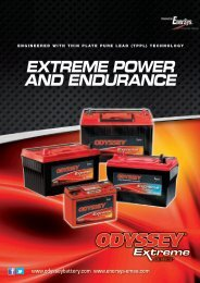 EXTREME POWER AND ENDURANCE