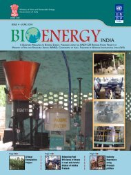 ISSUE 4 – JUNE 2010 UNDP-GEF BIOMASS POWER PROJECT OF ...