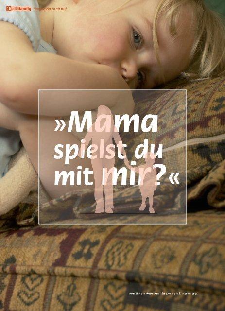 all4family Mama spielst du mit mir?