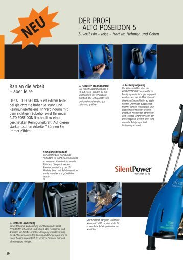 alto poseidon 5 - WAP-ALTO KEW Reinigungssysteme