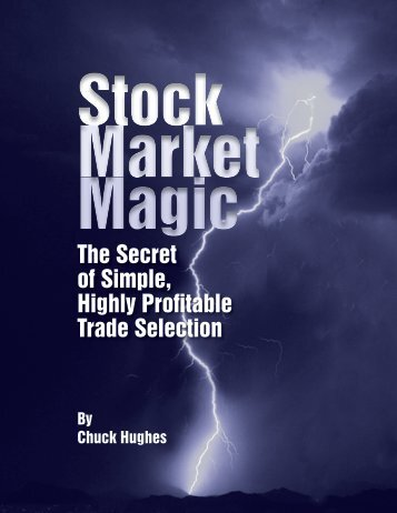 The Secret of Simple, Highly Profitable Trade Selection - TradeWins ...